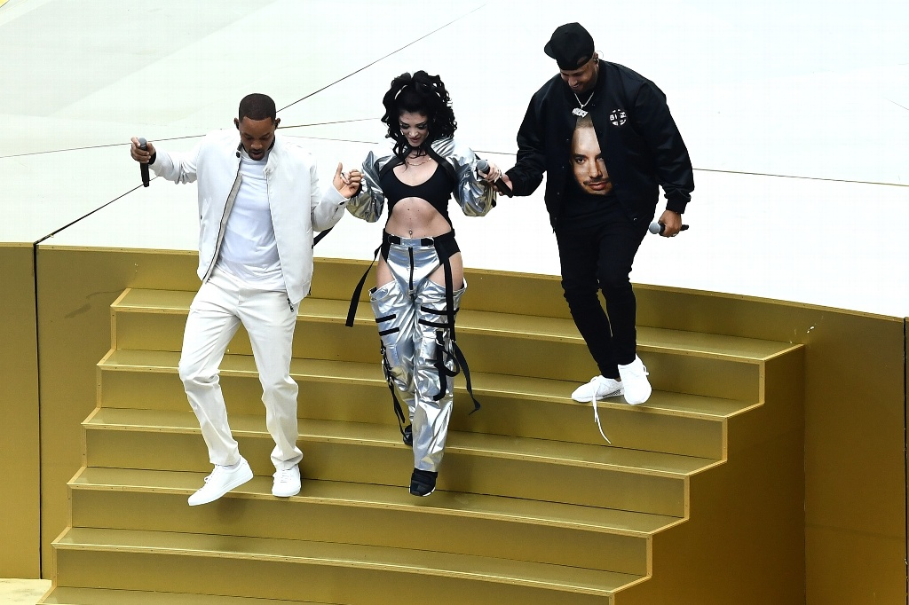 Will Smith, Nicky Jam y Era Istrefi en espectacular Clausura del Mundial Rusia 2018